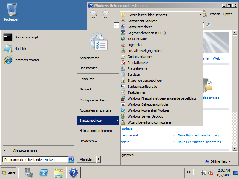 Windows Server 2008 R2 in Dutch (Nederlands)!