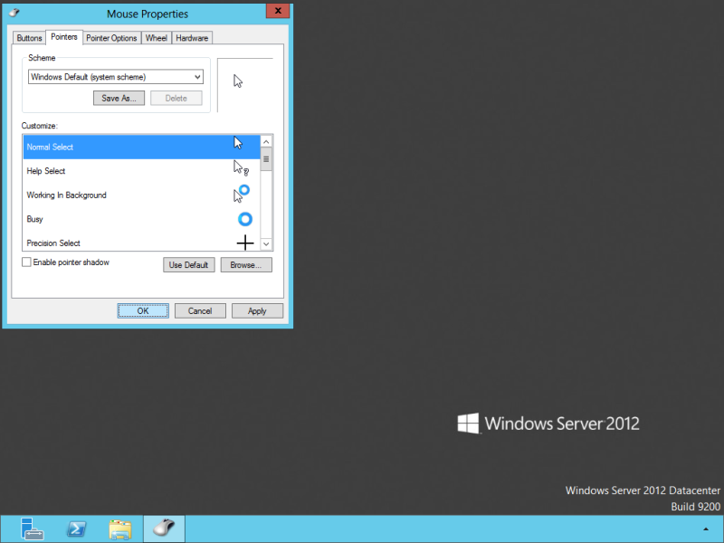 "Select a different scheme and then reselect the ""Windows Default (system scheme)"""
