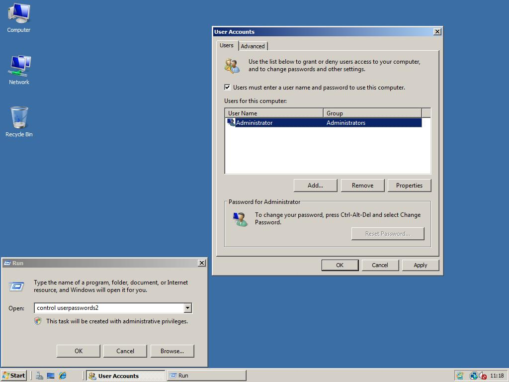 there are no logon servers available to service the logon request windows 2008