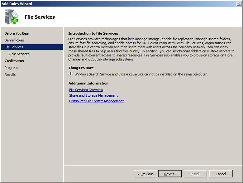 Enable Windows Search Service – Windows 2008 Workstation!